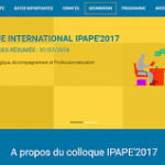 Colloque IPAPE 2017