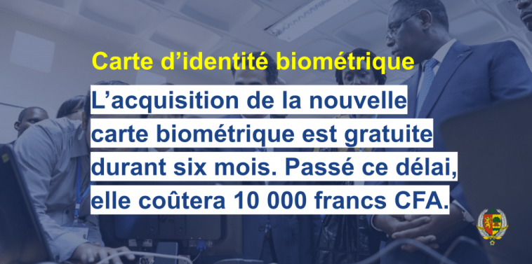 La carte biométrique CEDEAO