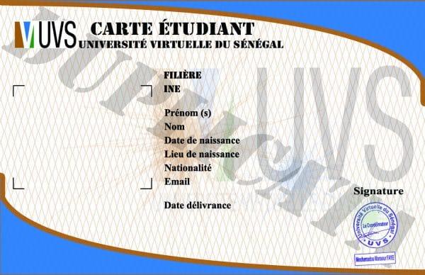 inscriptions et réinscriptions des étudiants de l'UVS