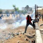 policiers et étudiants/violence à l'Ucad/Etudiants du Privé