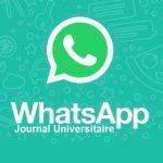 nouvelles fonctionnalités de WhatsApp/réseaux sociaux/Groupe WhatsApp Journal Universitaire