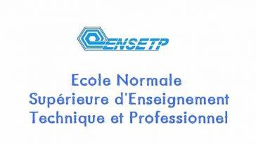 poste de Directeur des études/ENSETP-IFFP/entrée à l'ENSETP 2019/ENSETP/Concours à I'ENSETP/Economie familiale