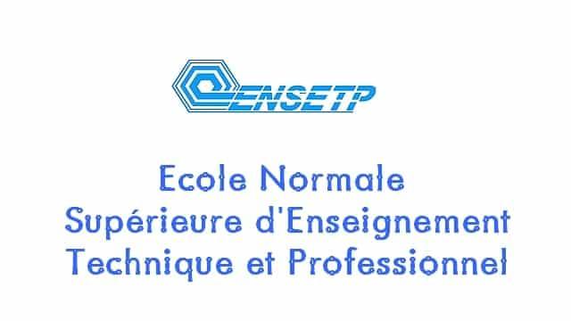 entrée à l'ENSETP 2019/ENSETP/Concours à I'ENSETP/Economie familiale