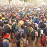 Manifestation des lycéens burkinabé