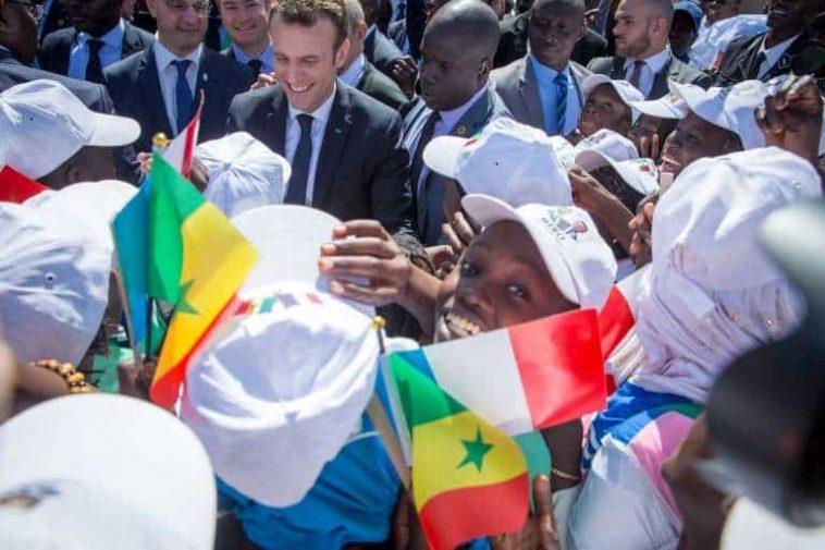 Macron à Dakar