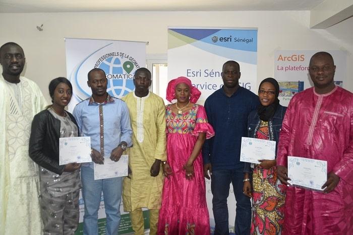 GEOMATICA-ESRI/Sénégal