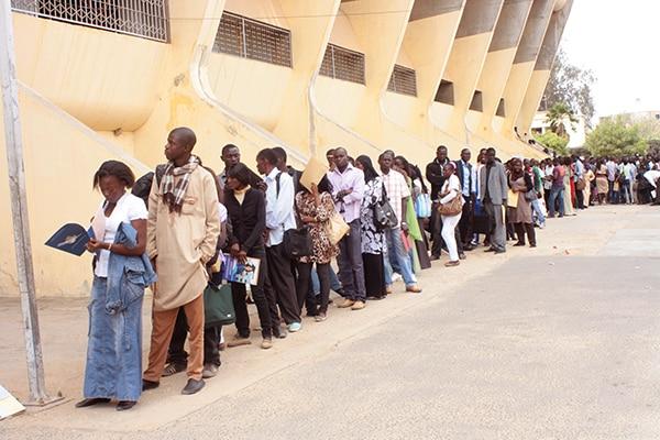 Afrique-UE/ANPEJ/marché de l'emploi/marché du travail