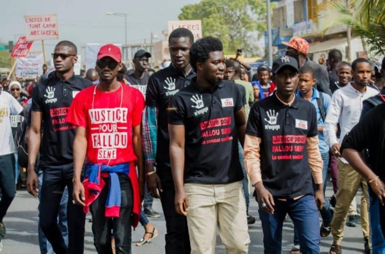 anniversaire de la mort de Fallou Sène/Justice pour Fallou/ministre de la Justice/Grève illimitée/UGB Saint-Louis/étudiants de l'Ugb se radicalisent/Communiqué des étudiants de l'UGB