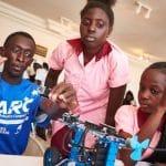 génie sénégalais en robotique et mécanique