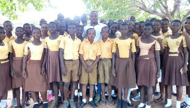 enseignant au Ghana