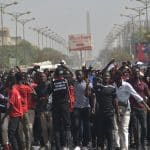 Marche des étudiants du Sénégal