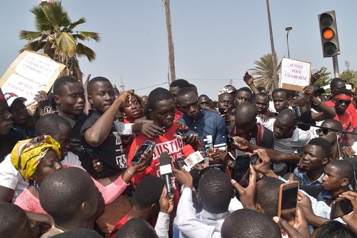 mouvement estudiantin/Marche Nationale des étudiants/