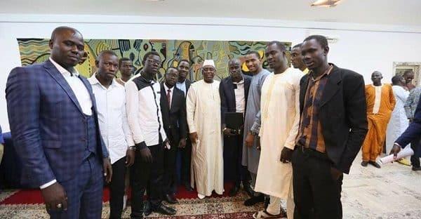 Rencontre entre le Président et les étudiants