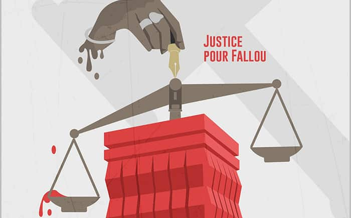Justice pour Fallou/Décès Fallou Sène /radho et LSDH/étudiants de l'Ugb déterrent la hache de guerre/meurtrier de Fallou Sène