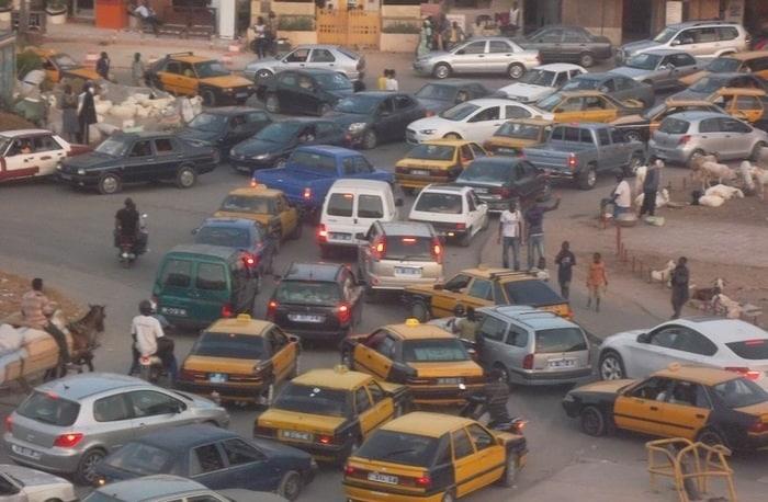 Embouteillages monstrueux