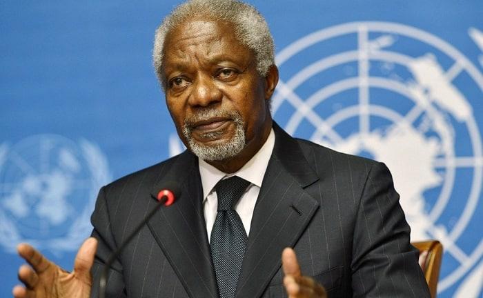 Kofi Annan/Décès de Kofi Annan