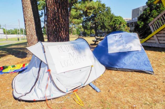 étudiants sans logement