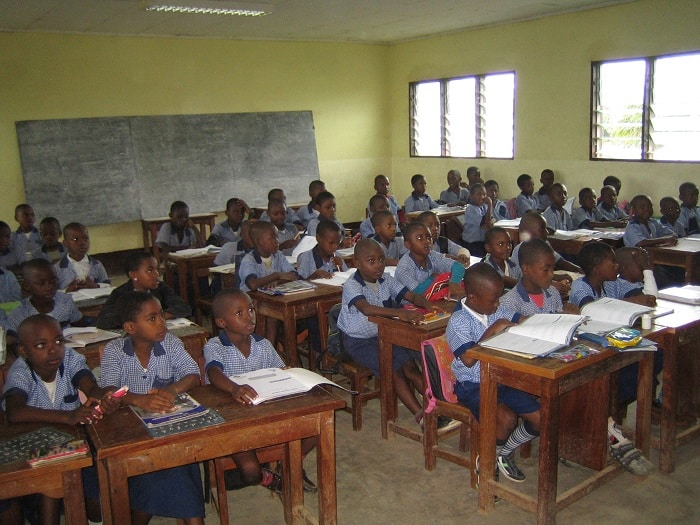 école à Bamenda