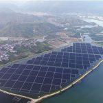 centrale solaire flottante/puissance mondiale en énergies renouvelables