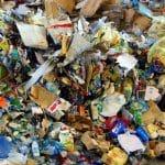 déchets en matière première