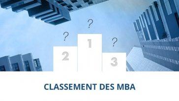 Classement 2019 des meilleurs MBA
