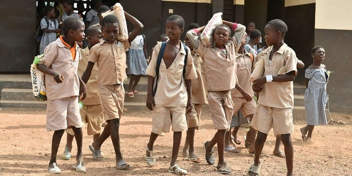 école en Afrique