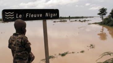 Naufrage sur le fleuve Niger