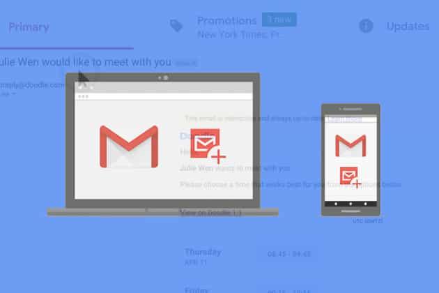 e-mails interactifs