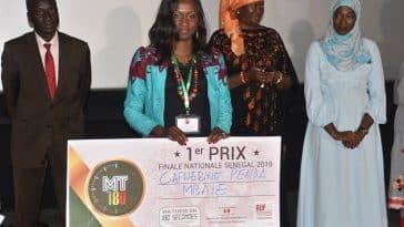nationale du concours MT180s/Gagnante Ma Thèse en 180s 2019