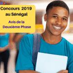 Concours 2019 au Sénégal