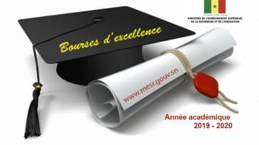 étudiants attributaires d'une bourse d'excellence