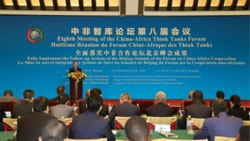 Forum Chine-Afrique des think tanks