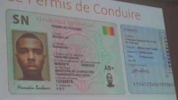 permis de conduire biométrique/Nouveau permis de conduire/permis de conduire