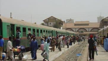 chemin de fer au Sénégal