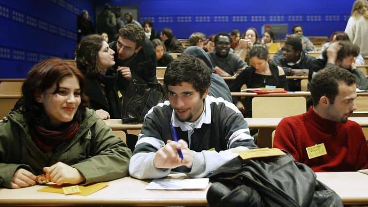 étudiants étrangers inscrits