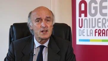 Recteur de l'AUF Jean Paul Gaudemar
