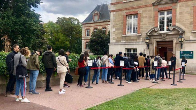 étudiants étrangers en France