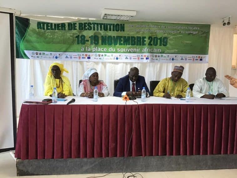 Atelier national sur la transition agroécologique au Sénégalde la DYTAES