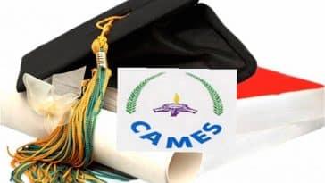 inscriptions de la 42e session des CC/diplômes Africains reconnus par le CAMES