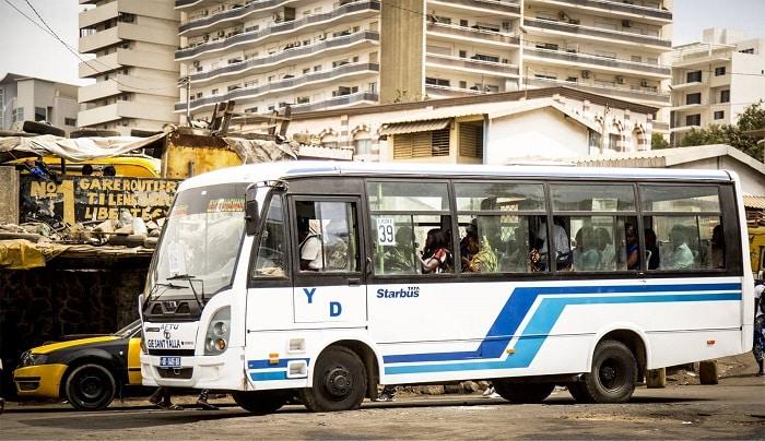 Coronavirus-État d'urgence/Transport à Dakar