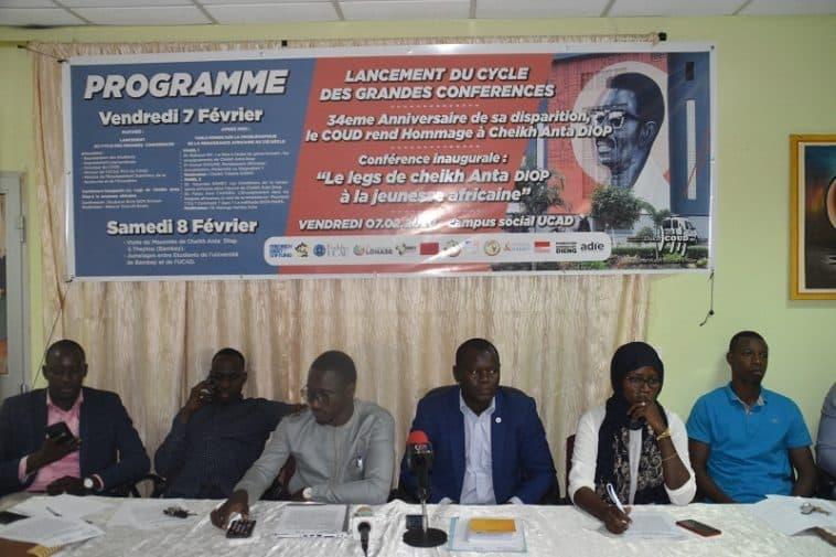 Commémoration du décès de Cheikh Anta Diop