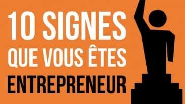 signes que vous êtes entrepreneur
