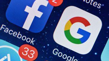 Facebook et Google Numérique- réseaux socio