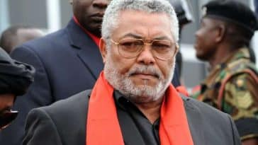 Jerry Rawlings ancien Président Ghana
