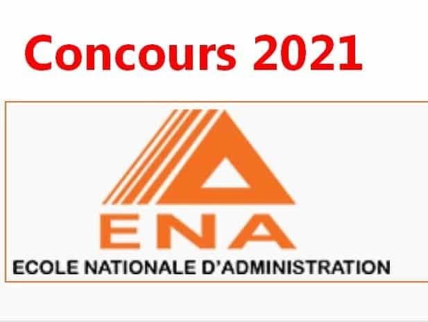 résultats concours ENA 2021